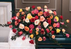 Roses Forever Casket Spray